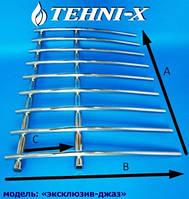"""Водяной полотенцесушитель Tehni-x Эксклюзив """"Джаз"""" высота 90 см, межосевое расстояние 20"""