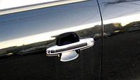 Накладки на ручки (НЕРЖ) Hyundai Sonata NF 06-10