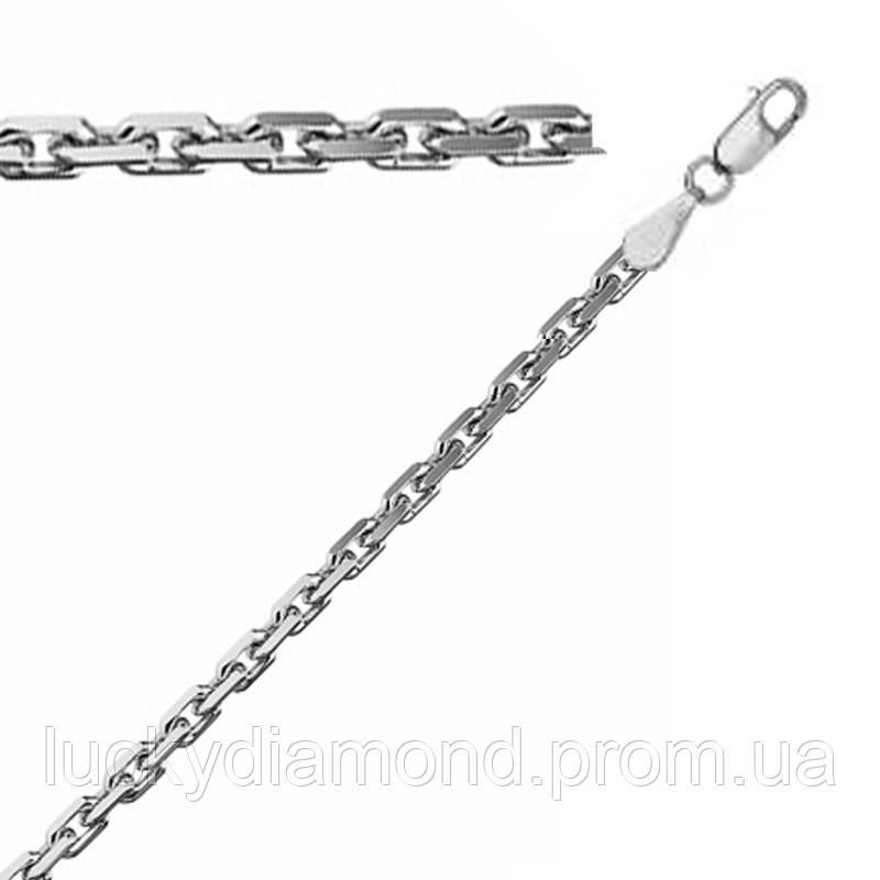 Срібний ланцюжок якірного плетіння