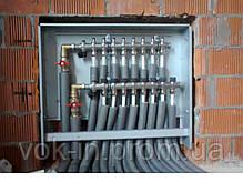 Шкаф встраиваемый для коллекторов на 10-12 контуров, фото 3
