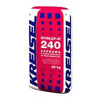 """Клей для армирования минеральной ваты """"STYRLEP W 240"""" """"Kreisel"""" 25 кг"""