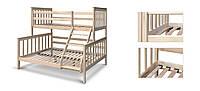 Кровать двухъярусная семейная  Адамс, фото 1