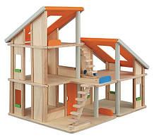 Кукольный домик Plan Тoys - Шале без мебели