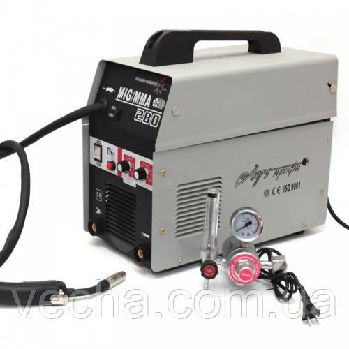 Полуавтомат Луч Профи MIG 280 (+MMA) + газ. редуктор