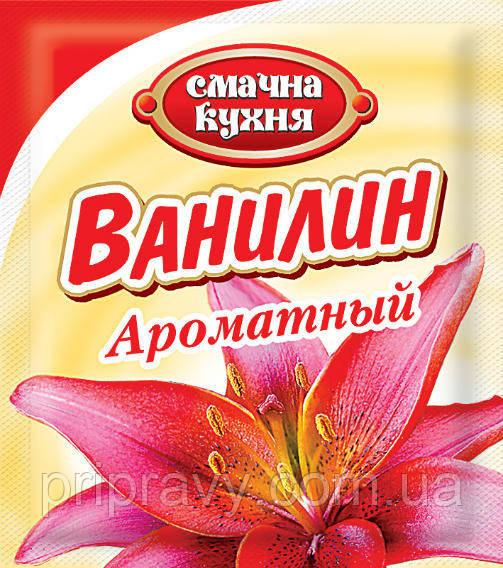 Ванилин ароматный ТМ Смачна кухня, 1,5 г