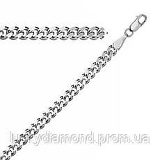 Срібний ланцюжок панцерного плетіння