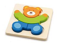 """Пазл Viga Toys """"Медведь"""", деревянные пазлы, развивающие пазлы, деревянные игрушки Viga Toys"""