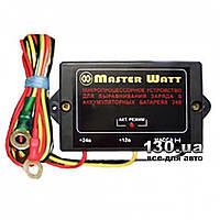 Устройство для выравнивания заряда двух АКБ 12 В — 24 В Master Watt Колдун