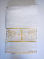 Полотенце махра на крещения.