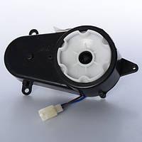 Рулевой редуктор с мотором 12 Вольт 5500 об/мин для детских электромобилей Q7, M 3231, M 2796, М 2797, М 2798