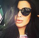 Солнцезащитные очки женские 2016 (черные), фото 3