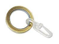 Кольцо плоское бесшумное 422 для карниза кованого Ø 19 мм