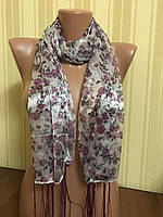 Шарфы, шарфики на голову и на шею 150*45 см, фото 1