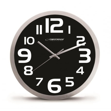 Часы настенные Esperanza Zurich EHC013 Black