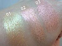Рассыпчатые пигменты / Chameleons (green beige) Asura