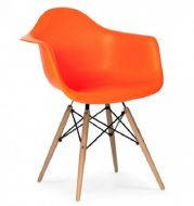 Кресло Тауэр Вуд оранжевое