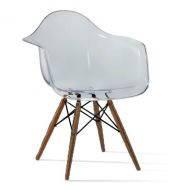 Кресло Тауэр Вуд прозрачное