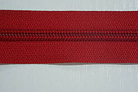 Молния лента (метражка) Баришевка №5 (6) цвет червоний