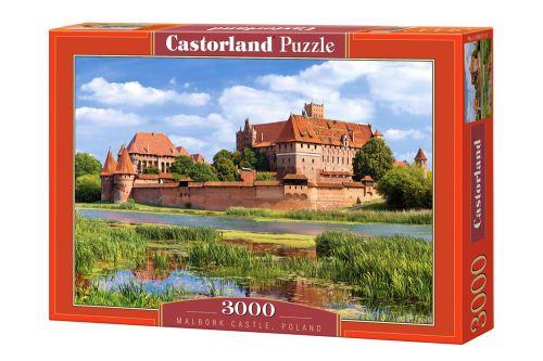 Пазлы Castorland Замок Мальборг, Польша С-300211, 3000 элементов