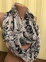 Хомуты шарфы женские красивые нарядные