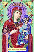 Схема для вышивки бисером «Пресвятая Богородица Иверская»