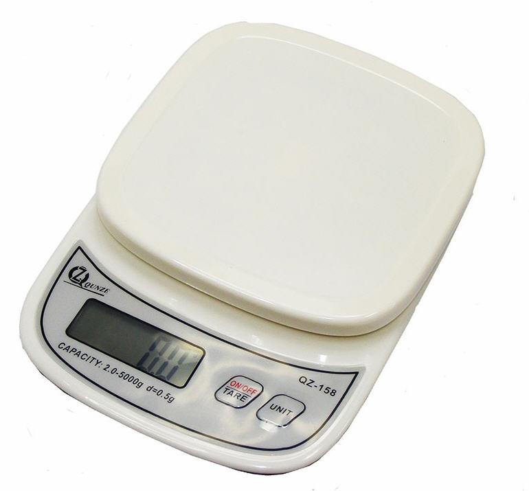 Кухонные Весы QZ-158, 5кг (0.5г)