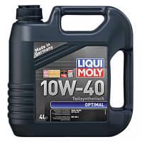 Моторное масло Liqui Moly Optimal 10W-40, 4л.
