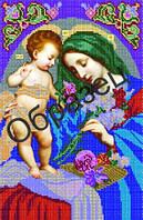 Схема для вышивки бисером «Пресвятая Богородица Неувядаемый цвет»