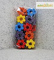 Квіти маленькі (9см) 50шт. фарбовані