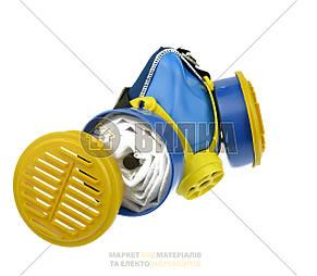 Респиратор Пульс К 2 картриджа (пылевой) фильтр флизелин Vita , фото 2