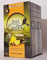 Чай зелений Feel Green (O smaky ananasowym)