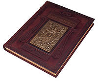 Книга Дом Романовых  кожаный переплет, ручная работа 250х515х35 мм
