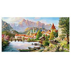 Пазлы Castorland Город в тени гор 058, 4000 элементов