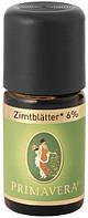 Эфирное масло корица листья био 6 % Primavera 5 мл