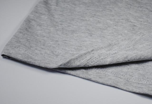 Серо-лиловая мужская футболка с длинным рукавом