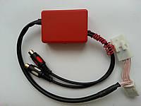 Интерфейсный адаптер TOYOTA RGB организация видео входа к штатному монитору