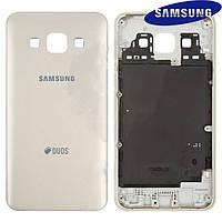 Задняя панель корпуса для Samsung Galaxy A3 A300, золотистая, оригинал