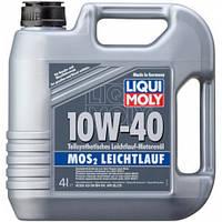 Моторное масло Liqui Moly МoS2 Leichtlauf 10W-40, 4л.