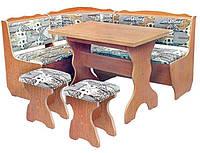 Пехотин  кухонный уголок комплект Фараон 850х1600х1200мм