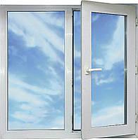 Окно стандартное 1,3*1,4 из профиля Framex-71  5k 1-кам стеклопак5