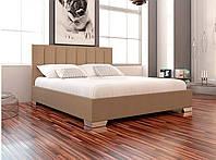 Кровать Бест в обивке с мягким изголовьем односпальная