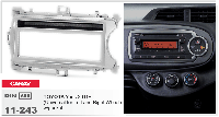 Рамка переходная Carav 11-243 Toyota Yaris 11+ (Universal for Left  Right Wheel) w/pocket 1DIN