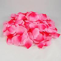 Лепестки роз двухцветные