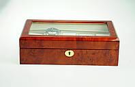 Деревянная шкатулка для часов Salvadore 80410DBC на 10 отделений
