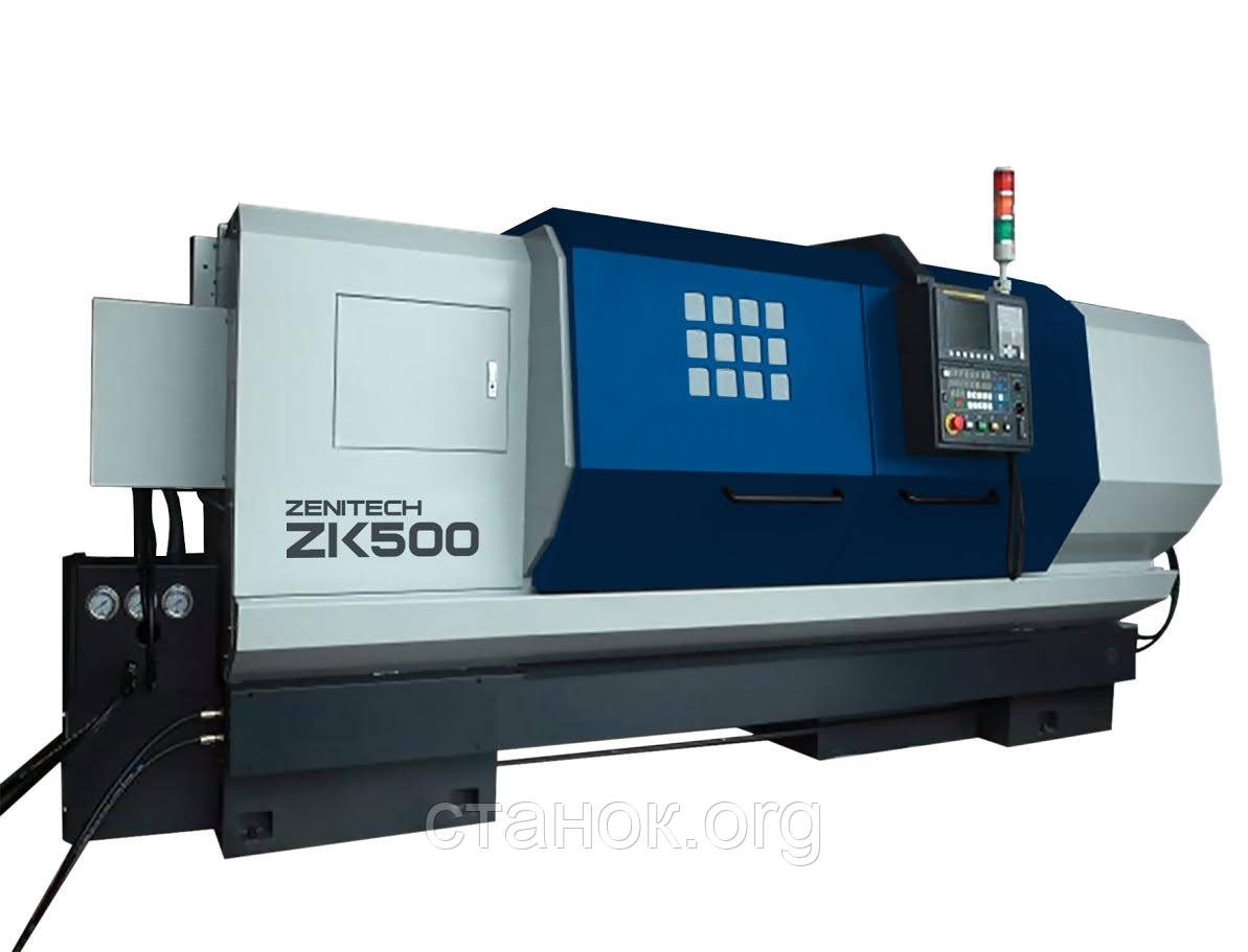 Zenitech ZK 500-1500 токарный станок по металлу с ЧПУ верстат зенитек зк 500 1500