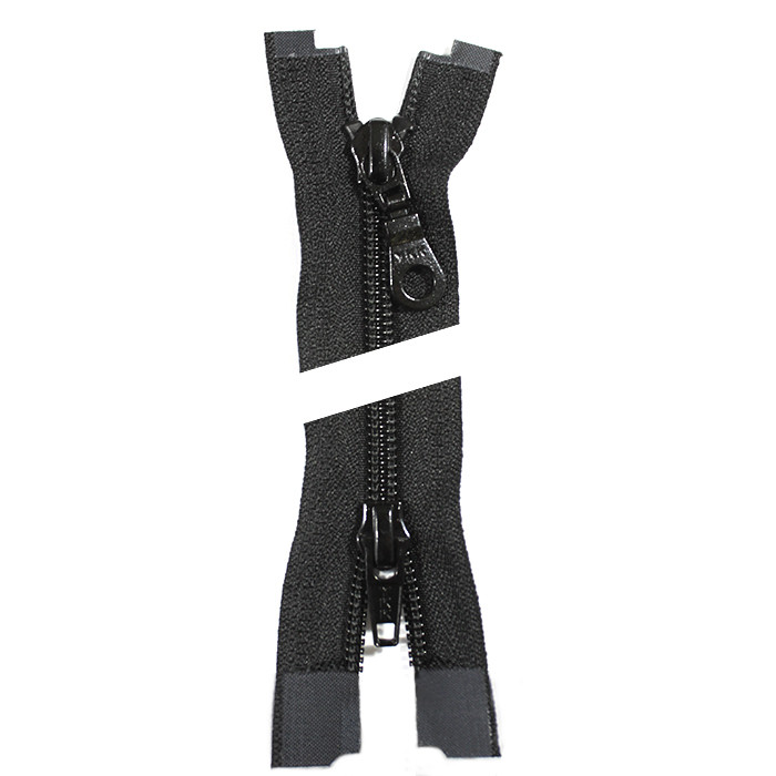 Молния YKK пластик 100 см. тип 5/2, цвет 580-чёрный