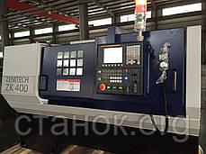 Zenitech ZK 500-1500 токарный станок по металлу с ЧПУ верстат зенитек зк 500 1500, фото 3