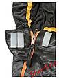 Мешок спальный теплый  225х80х55см Max Fuchs Advance Black/Grey (-10С) 31522A , фото 2