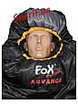 Мешок спальный теплый  225х80х55см Max Fuchs Advance Black/Grey (-10С) 31522A , фото 4