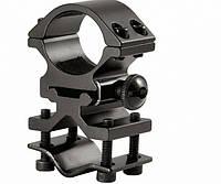Крепление для оптического прицела КР-T2002, d кольца 25,4-27,5мм, d ствола 12,5-18мм, 79г